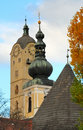 Churches in Stein no.1 Royalty Free Stock Image