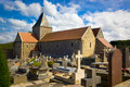 Churchyard Stock Image