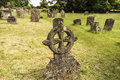 Churchyard old historical cemetery in the in corsham uk Stock Image
