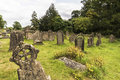 Churchyard old historical cemetery in the in corsham uk Stock Photos