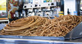 Churros Stockbild