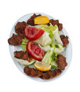 Ciğköfte (Cigkofte) Royalty Free Stock Images