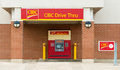 CIBC Drive Through ATM Royalty Free Stock Photo