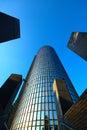 Cibona Tower, Zagreb, Croatia Royalty Free Stock Photo