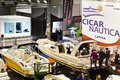 Cicar Nautica At Big Blue Sea Expo, Rome, 2011 Royalty Free Stock Image