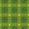 Ciclic pattern with holly berry Royalty Free Stock Image