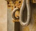 Cierre de la cerradura de puerta Fotos de archivo