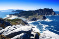 Cies islands Royalty Free Stock Photos