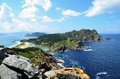 The Cies Islands (Ria de Vigo, Galicia) Royalty Free Stock Photo
