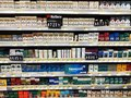 Cigarettes On Display For sale. Royalty Free Stock Photo