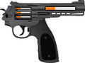 Cigarettes pistol second variant illustration Stock Photo