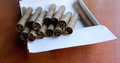 Cigars in a box Royalty Free Stock Photo