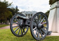 Cilvil war cannon in lafayette square with white house in background Royalty Free Stock Image