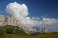 Cimon de la pala and pale di san martino peaks of group dolomites trentino italy Royalty Free Stock Photography