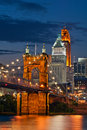 Cincinnati. Royalty Free Stock Photo