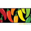 Cinco de mayo feliz happy th of may card in format Stock Images
