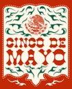 Mexičan dovolenka vektor plagát