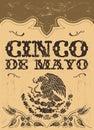 Mexičan dovolenka vektor plagát karta šablóna