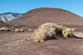 Cinder cone Royalty Free Stock Photo