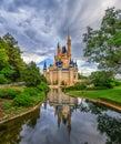 Disneys Cinderella Castle Royalty Free Stock Photo