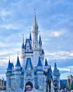Cinderella s castle at magic kingdom in walt disney world Royalty Free Stock Photos
