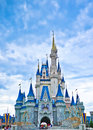 Cinderella s castle at magic kingdom in walt disney world Royalty Free Stock Photo