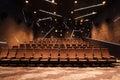 Cinema hall Royalty Free Stock Photo