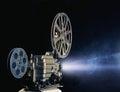 Cinema projector Royalty Free Stock Photo
