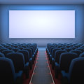 Cinema Screen Stock Image