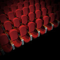 Cinema Seat Royalty Free Stock Photos
