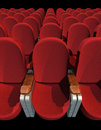 Cinema Seat Royalty Free Stock Photo