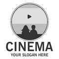 Cinema theator logo