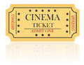 Cinema Ticket Vector Illustrat...