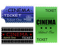 Cinema tickets Stock Photos