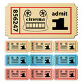 Cinema tickets Stock Image