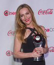 Cinemacon the big screen achievement awards las vegas march comedy star of year award winner actress leslie mann arrives at at Royalty Free Stock Photos