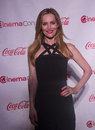 Cinemacon the big screen achievement awards las vegas march comedy star of year award winner actress leslie mann arrives at at Stock Photography