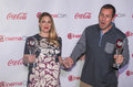 Cinemacon the big screen achievement awards las vegas march female and male star of year award winners drew barrymore and adam Stock Photos