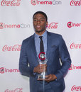 Cinemacon the big screen achievement awards las vegas march male star of tomorrow award winner actor chadwick boseman arrives at Stock Image