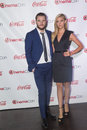 Cinemacon the big screen achievement awards las vegas march rising stars of award winners actors jack reynor and nicola peltz Royalty Free Stock Images