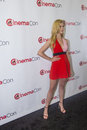 Cinemacon paramount opening night presentation las vegas nv march actress nicola peltz arrives at the at caesars palace on march Stock Photos