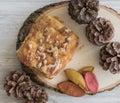 Cinnamon Bear Claw Danish Dessert