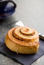 Cinnamon bun Royalty Free Stock Photo