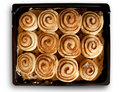 Cinnamon Buns Royalty Free Stock Photography