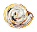 Cinnamon Roll Royalty Free Stock Photo