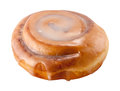 Cinnamon Roll isolated Royalty Free Stock Photo