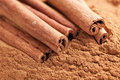 Cinnamon sticks Royalty Free Stock Photos