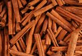 Cinnamon sticks in a bazaar Royalty Free Stock Photo