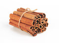 Cinnamon sticks isolated on white background Royalty Free Stock Photo