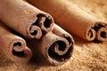 Cinnamon Sticks Macro